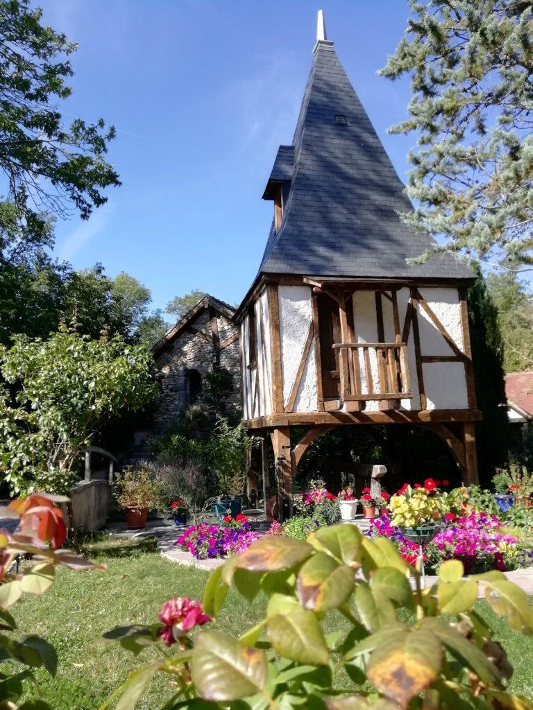Le moulin de la Maltorne au printemps