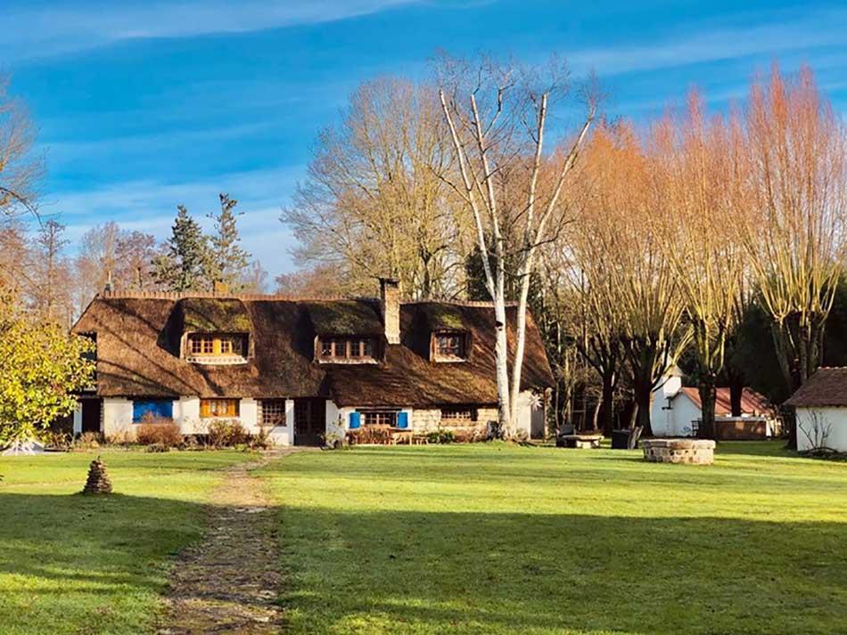Maison de Moulin pour un séminaire en Ile de France